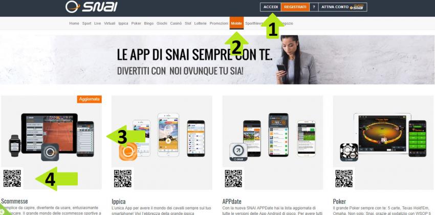 snai app