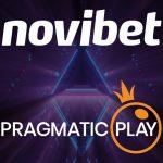 I contenuti di live casino' di Pragmatic Play diventano disponibili con Novibet