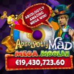 Mega Moolah di Migrogaming batte nuovamente il record per il piu' grande jackpot sulle slot online