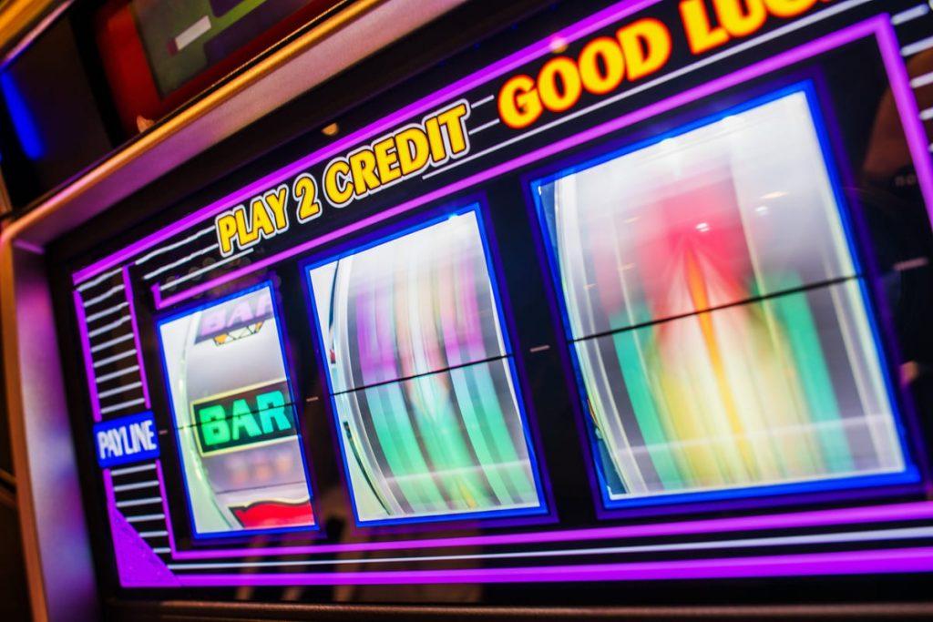 Bookmakers casino slot machine